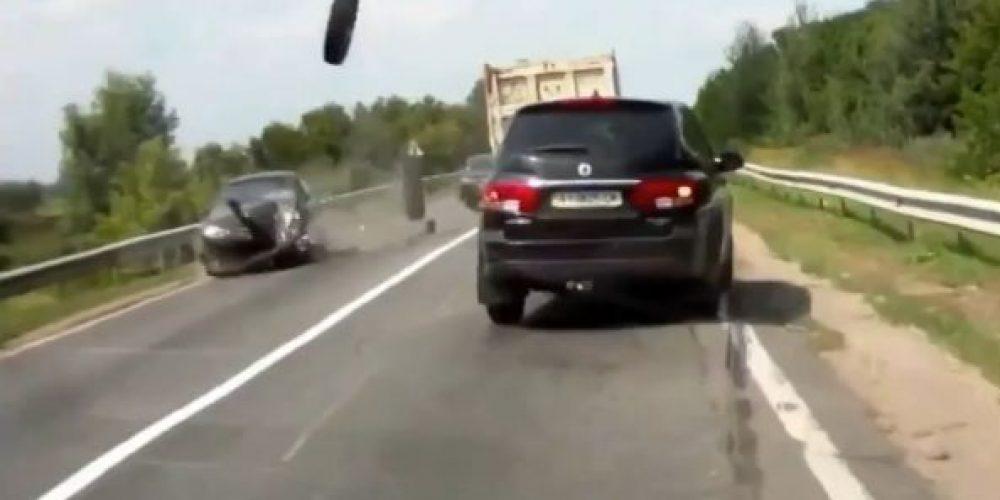 La fin des pneus divaguant sur les routes