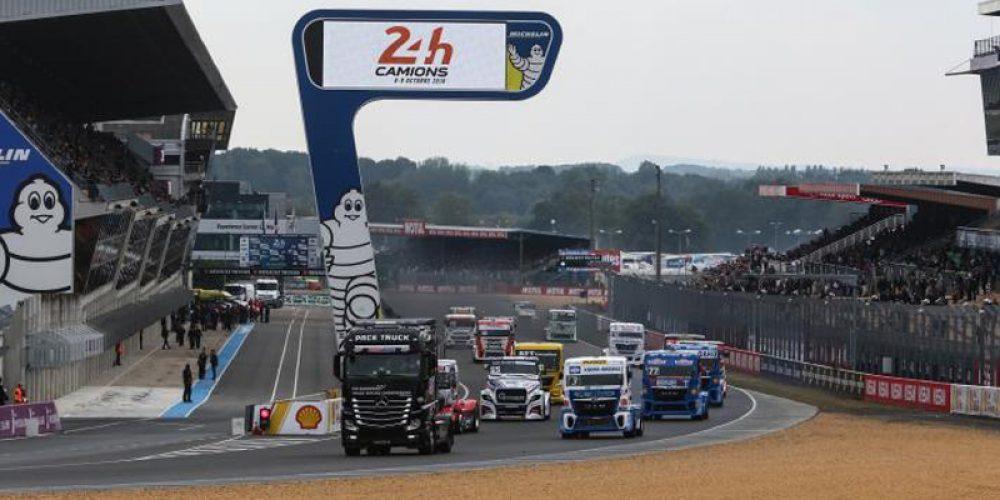 Septembre 2017 : Securiveur présent au 24h Camions au Mans